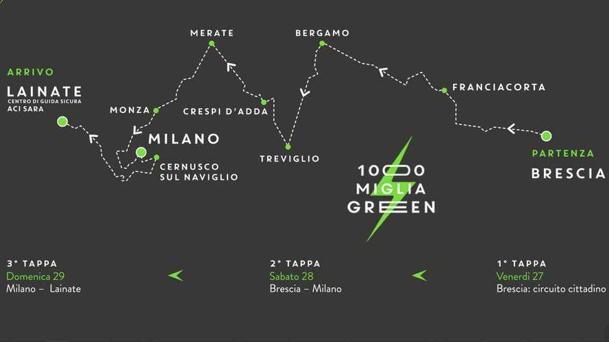 InsideEVs in gara alla prima 1000 Miglia Green con una Mercedes EQC