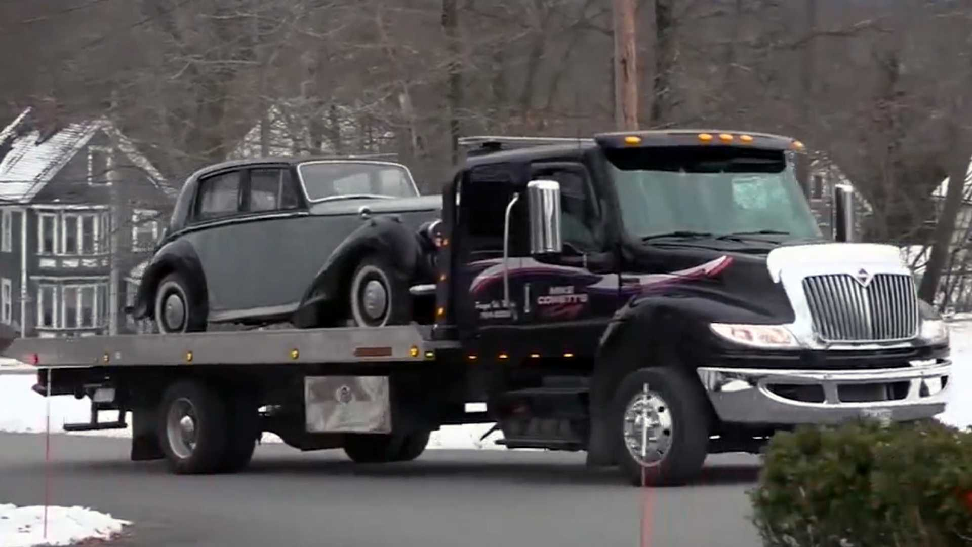 """[""""Maine Couple Reacquires 1950 Bentley Nearly 40 Years After Selling It""""]"""