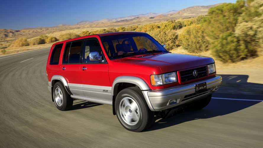 Factory-Built 1997 Acura SLX Restomod Created For RADwood