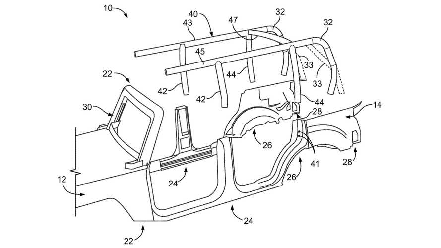 Ford Removable Roof Patent