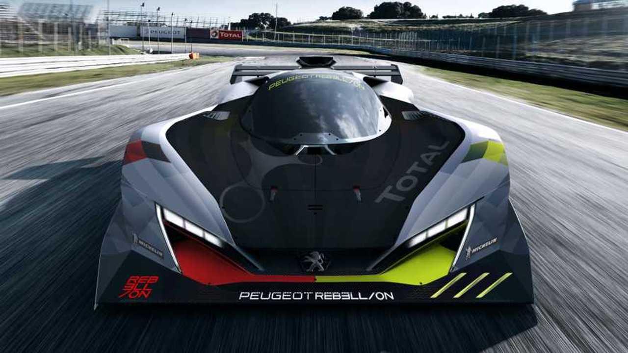 Peugeot Rebellion 2022 Hypercar