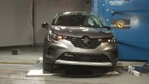 Renault Captur Crash Test Euro NCAP 2019