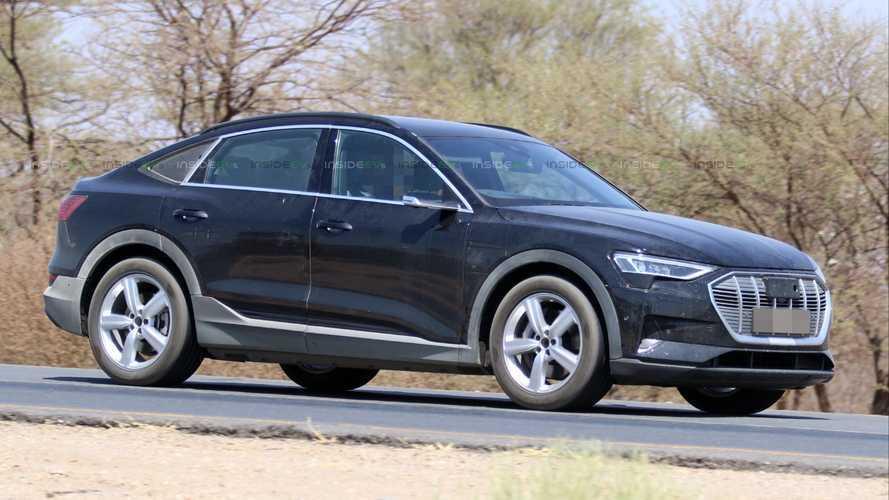 Flagra: Novo Audi e-Tron Sportback será apresentado em novembro