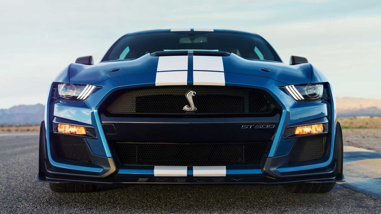 2020 Ford Mustang Shelby GT500 Front