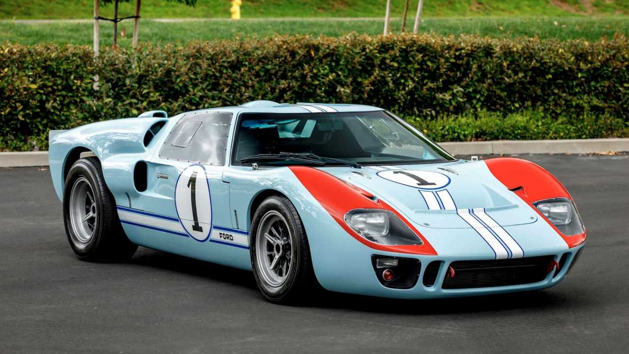 Own Ken Miles Hero GT40 MKII From 'Ford v Ferrari'