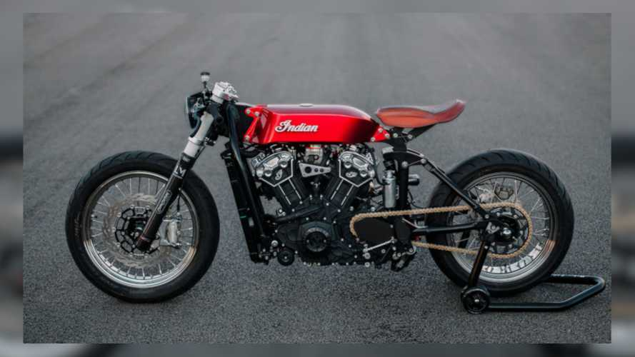 This Custom Indian Scout Bobber Is Sleek As A Switchblade