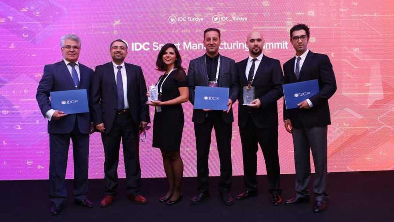 Tofaş IDC Türkiye Akıllı Üretim Teknoloji Ödülleri
