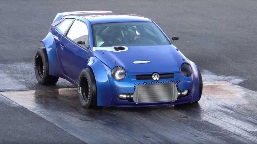 Két motor és 1800 lóerő - ilyen egy felmérgesített Volkswagen Lupo