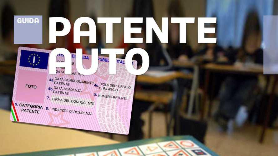 Patente B per l'auto: come si prende