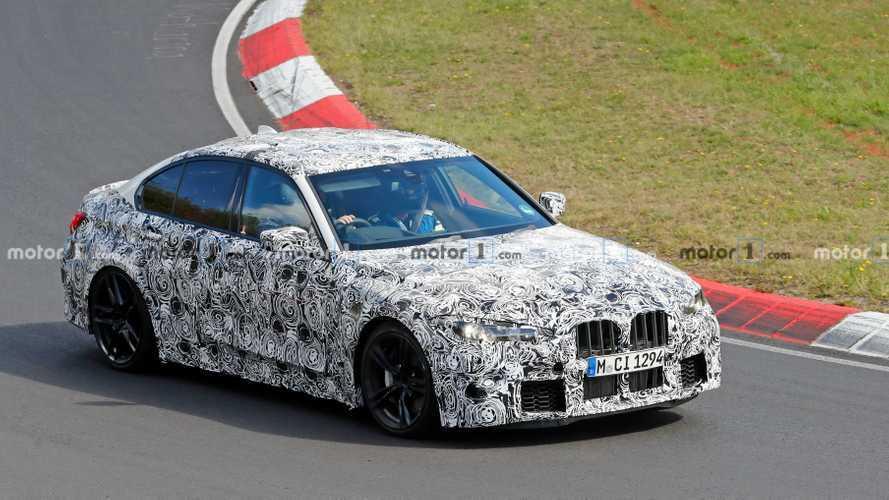 La future BMW M3 une nouvelle fois débusquée