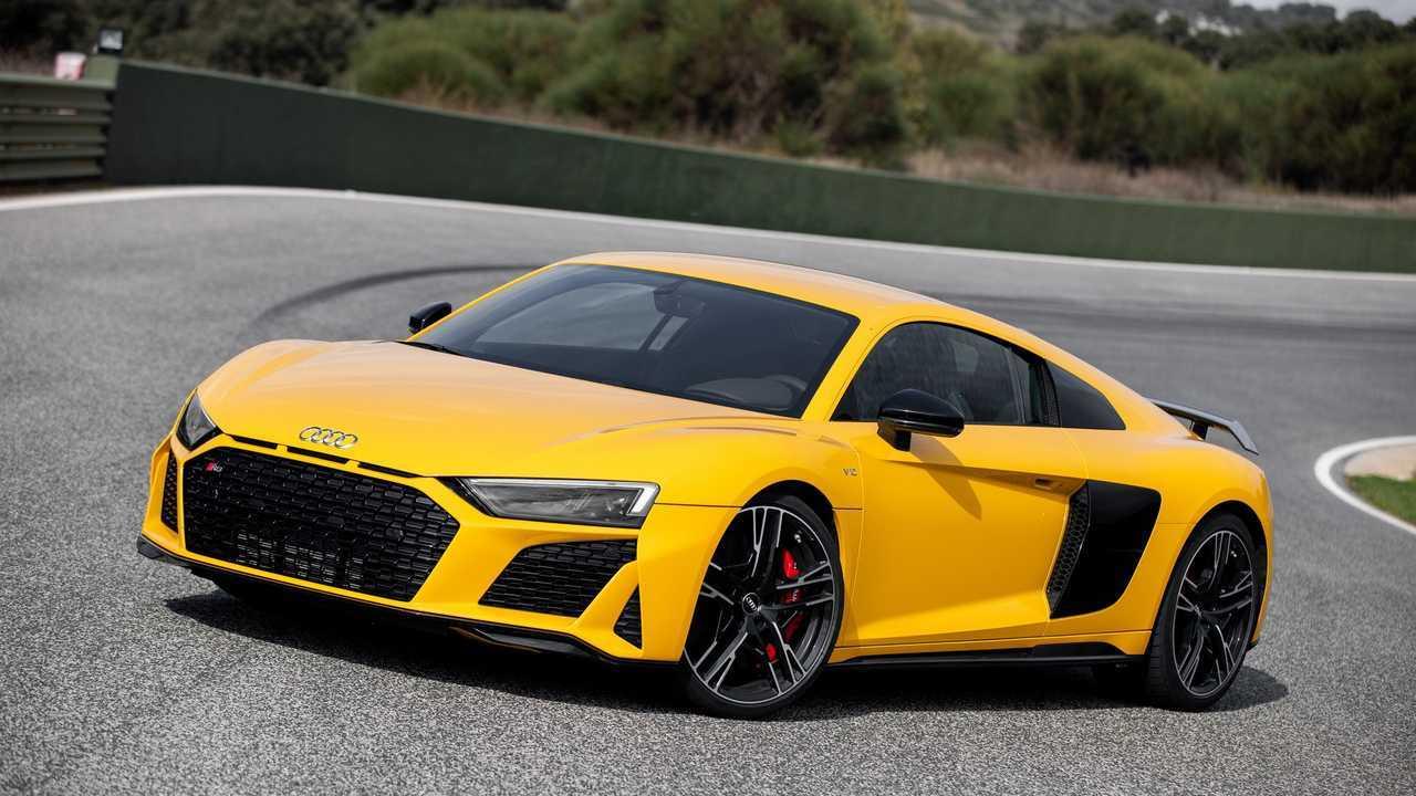 Audi R8 V10 2019 Test