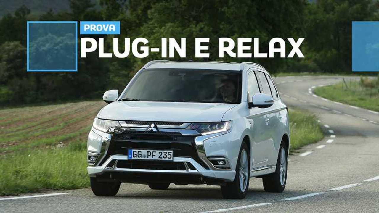 Mitsubishi Outlander PHEV, più di un benzina, quasi un'elettrica