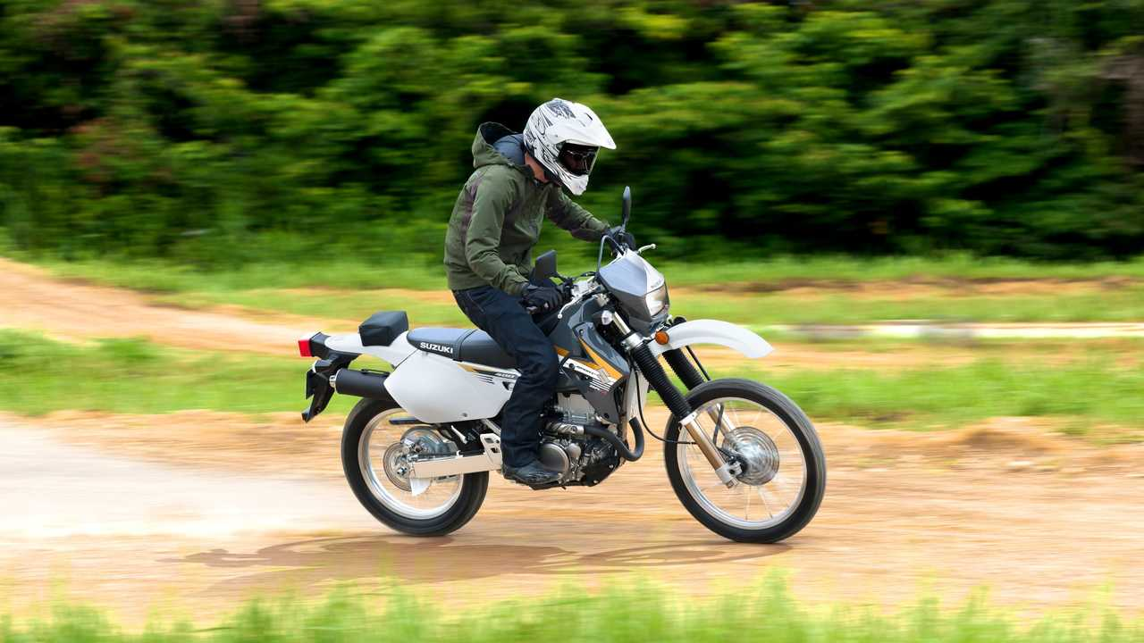 2018 Suzuki DR-Z400S and SM