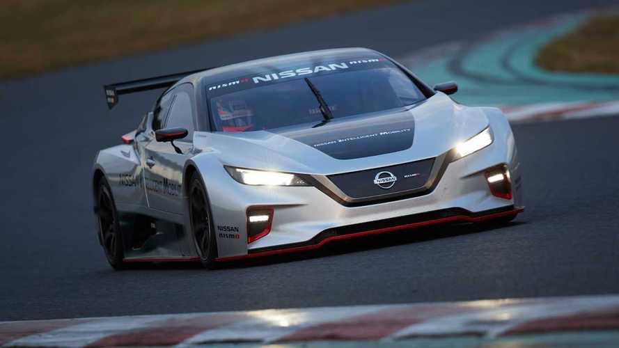 Nissan Leaf vira carro de corrida com 340 cv na versão Nismo RC