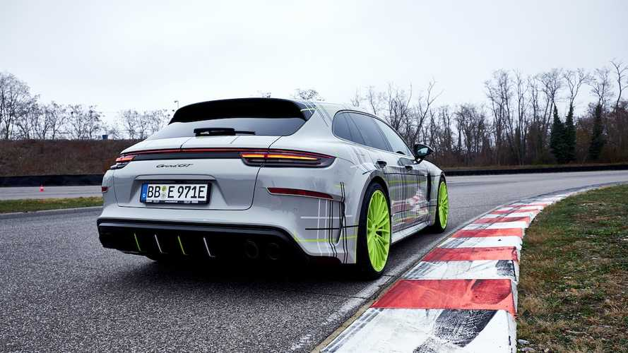 TechArt Modifiyeli Porsche Panamera Turbo S E-Hybrid Sport Turismo
