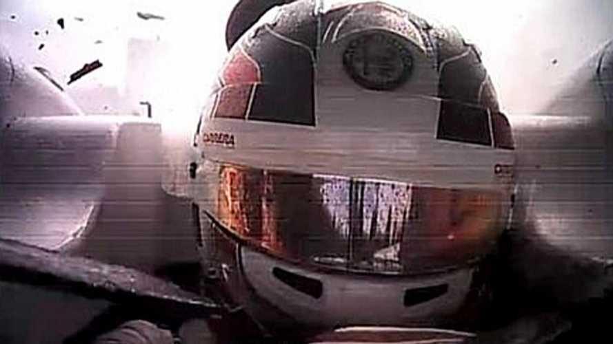 Exclusif - Le Halo a empêché Leclerc d'être touché à la visière à Spa