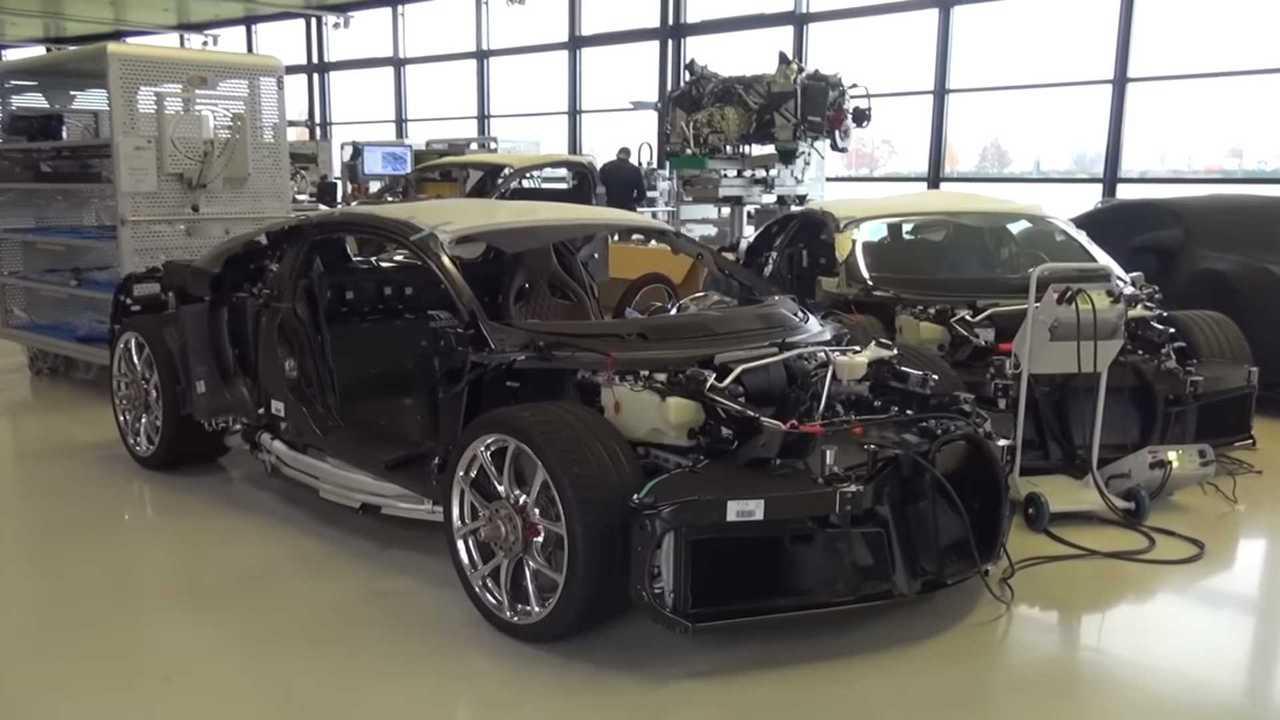 Bugatti Chiron factory tour