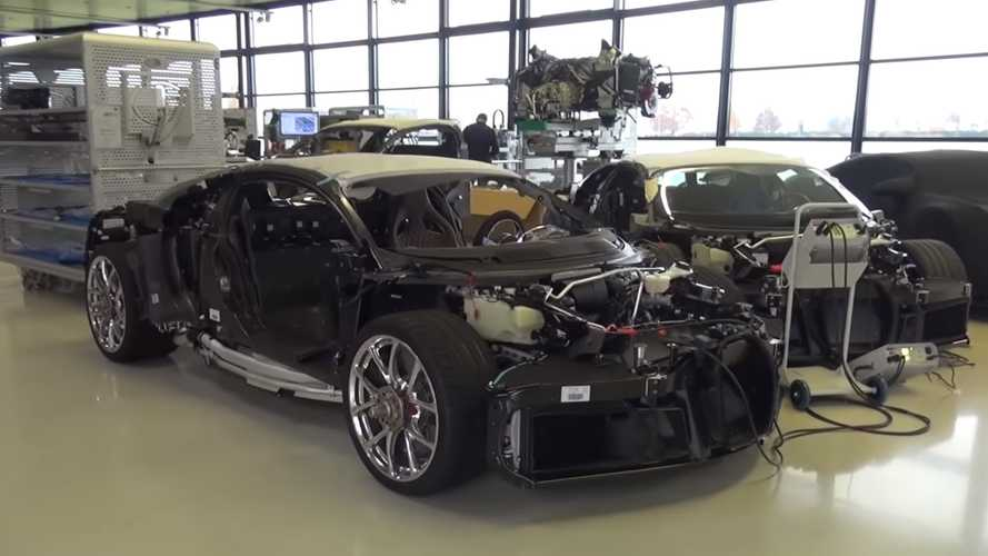 Take a virtual tour around Bugatti's factory in France
