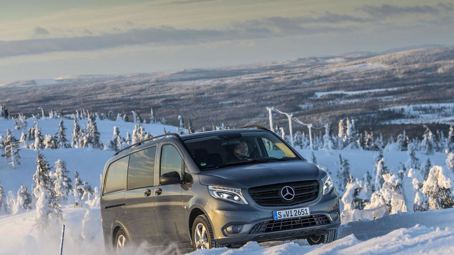 Mercedes Vito 4x4 announced