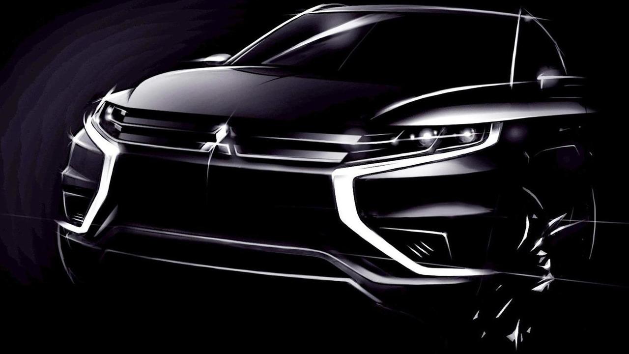 Mitsubishi Outlander PHEV Concept-S teaser