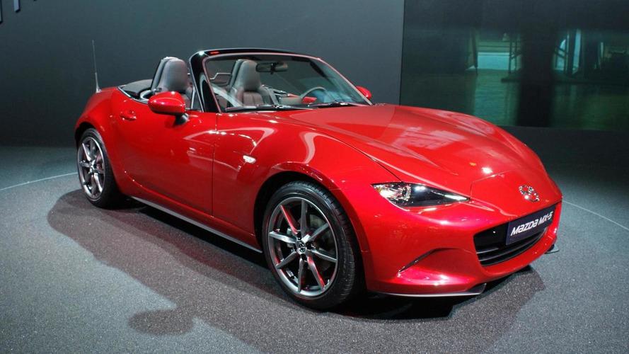 All-new Mazda MX-5 Miata celebrates world public debut in Paris