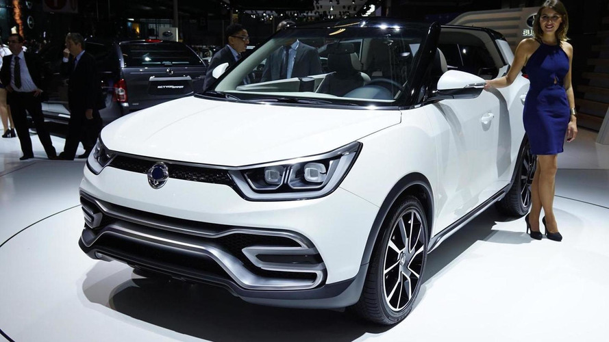 SsangYong XIV-Air concept rethinks the crossover convertible