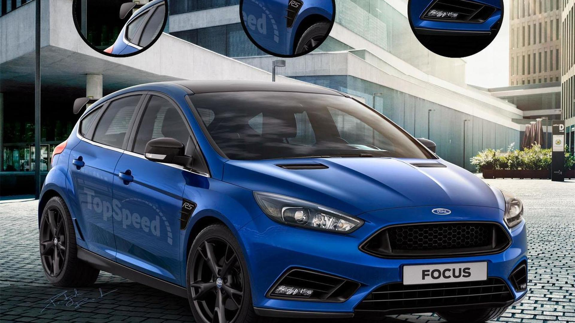 Ford Focus RS & Shelby Mustang GT350R get rendered ahead of a ...