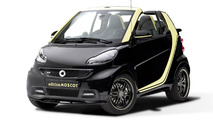 Smart ForTwo Cabrio edition MOSCOT