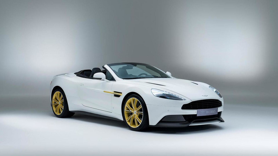 Aston Martin Works 60th anniversary Vanquish unveiled
