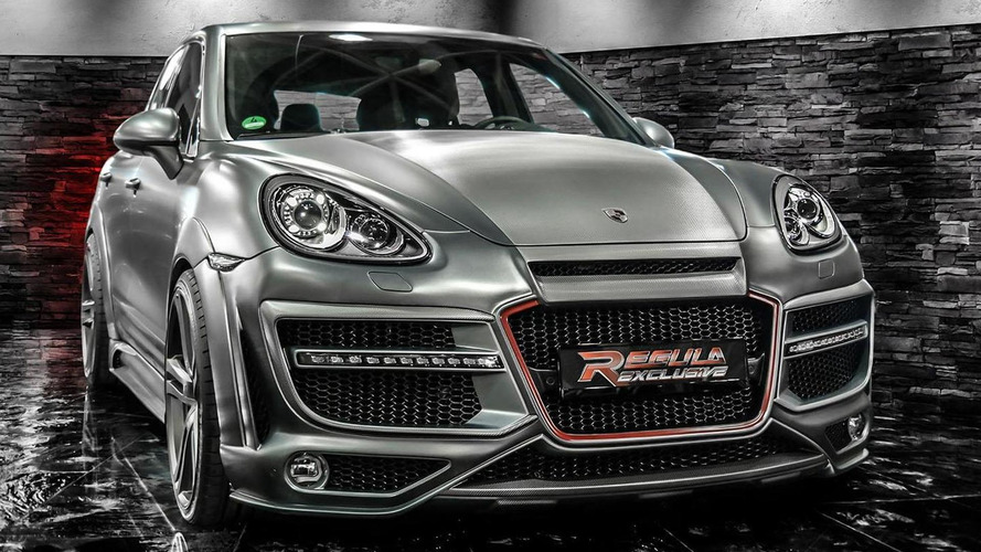 Regula Exclusive gives the Porsche Cayenne an aggressive body kit