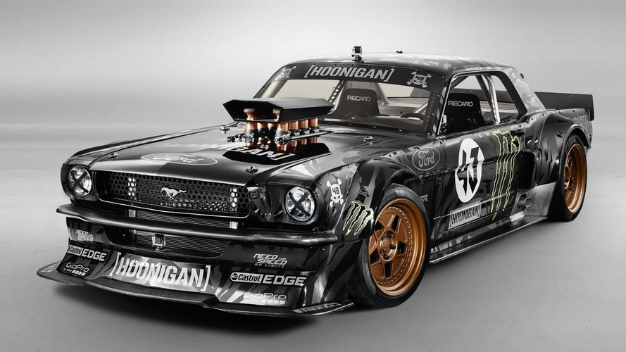 Hamilton wanted to buy Block's Gymkhana 845-hp Mustang