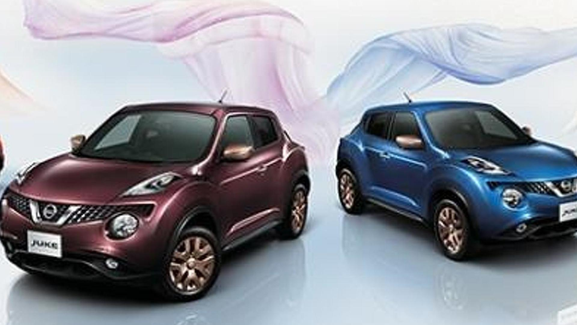 Nissan Juke 80th Special Color Limited Edition launched in ...