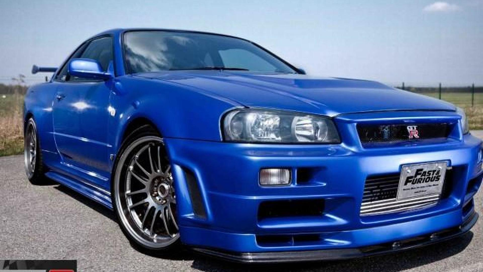 Nissan Skyline Gt R R34 From Fast Furious 4 On Sale