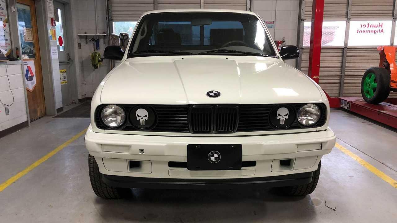 2001 Toyota Tacoma with 1987 BMW 325i face