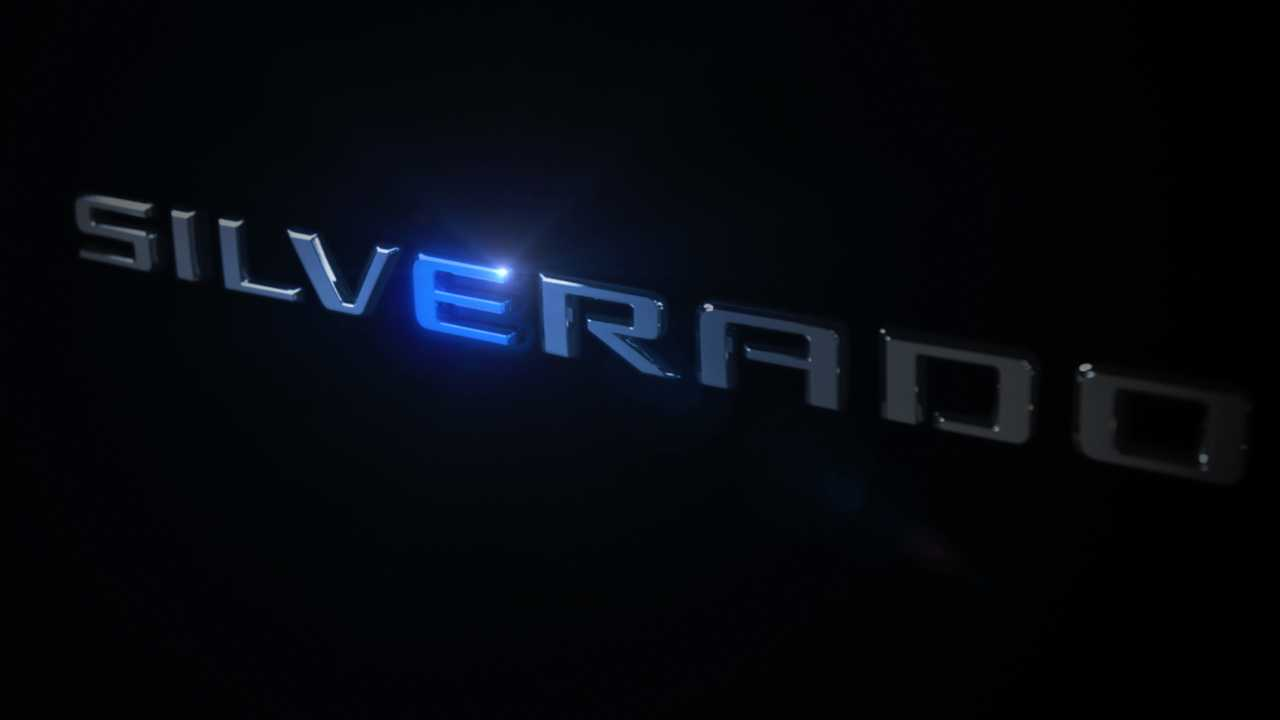 Chevy Silverado EV Teaser