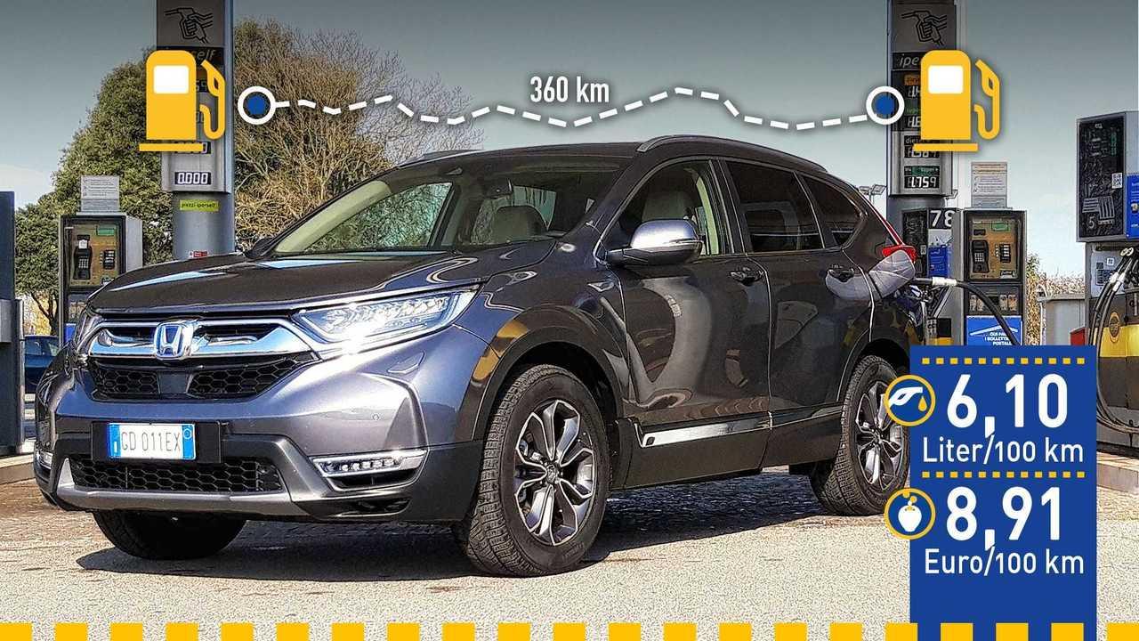 Honda CR-V Hybrid (2021) im Verbrauchstest