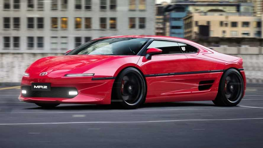 Toyota MR2 Rendering Resurrects Fabled Sports Car