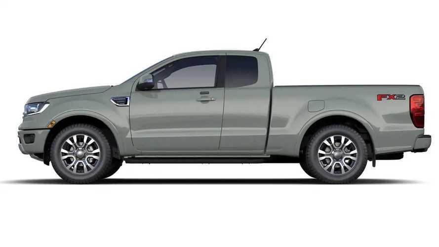 Ford Ranger Cactus Gray 2021