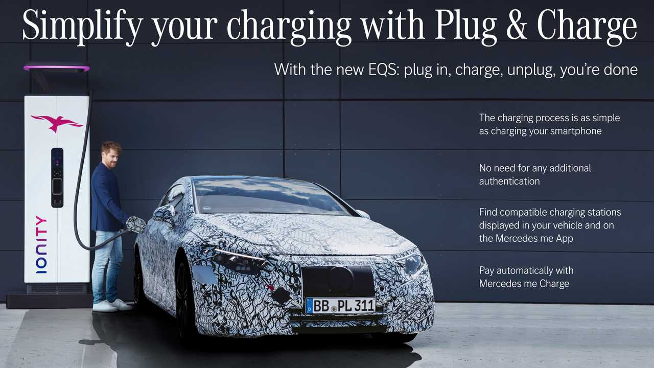 Facts about Mercedes EQS charging