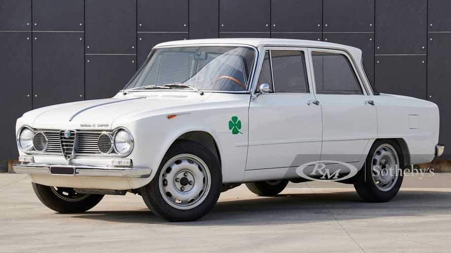 Une Alfa Romeo Giulia très rare vendue pour 160'000 € !