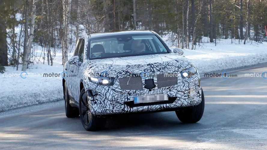 2021 Mercedes-Benz GLC Yeni Casus Fotoğraflar