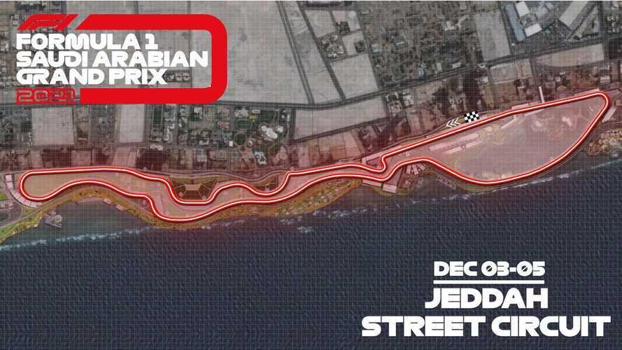 Découvrez le circuit du GP d'Arabie saoudite de F1