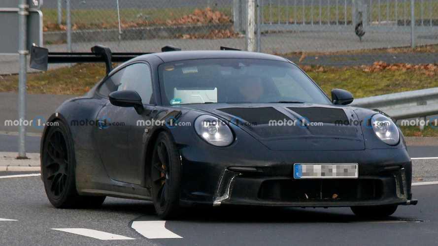 Porsche 911 GT3 RS 2022, nuevas fotos espía