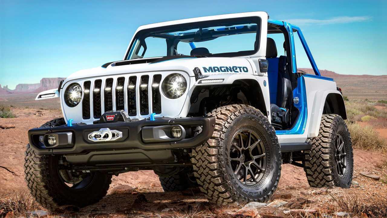 2021 Jeep Magneto EV Concept