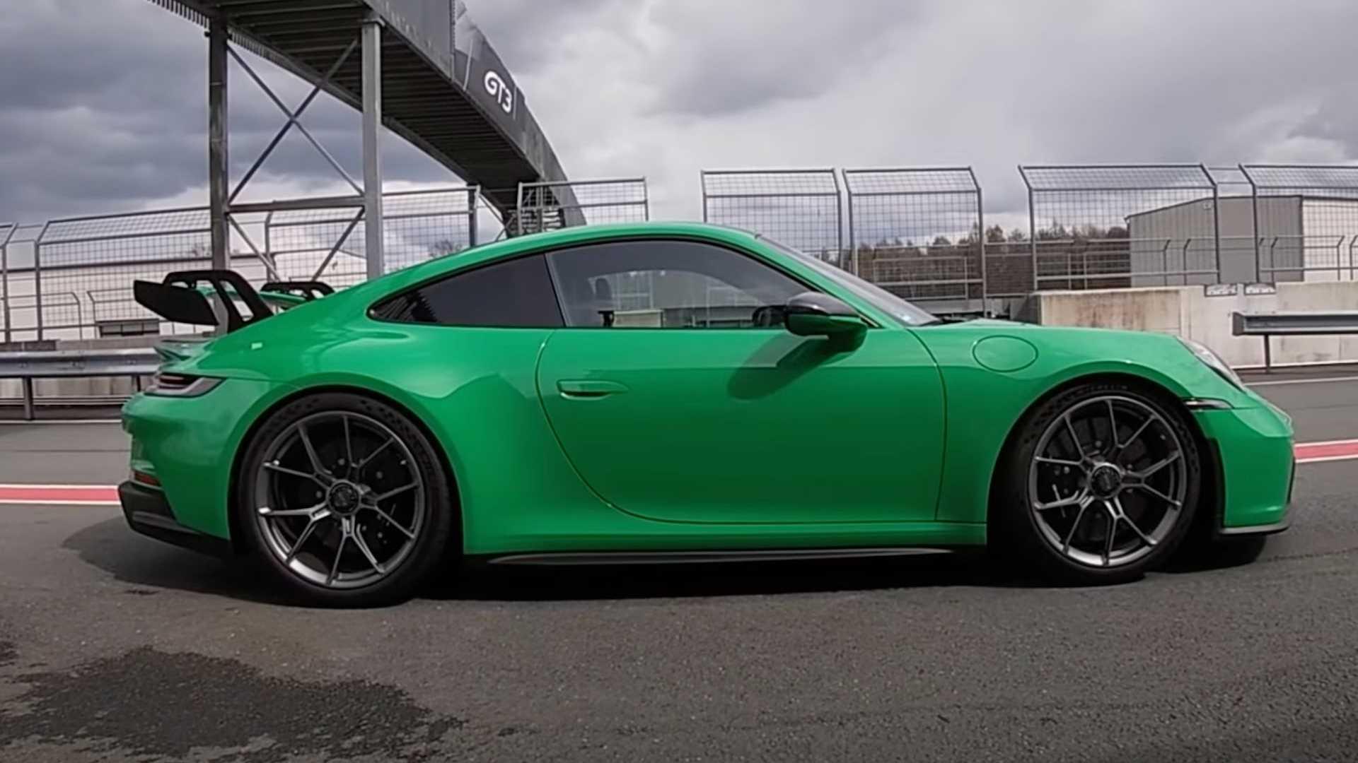 photo of 2022 Porsche 911 GT3 Acceleration Test Shows Quick Sprint To 124 MPH image