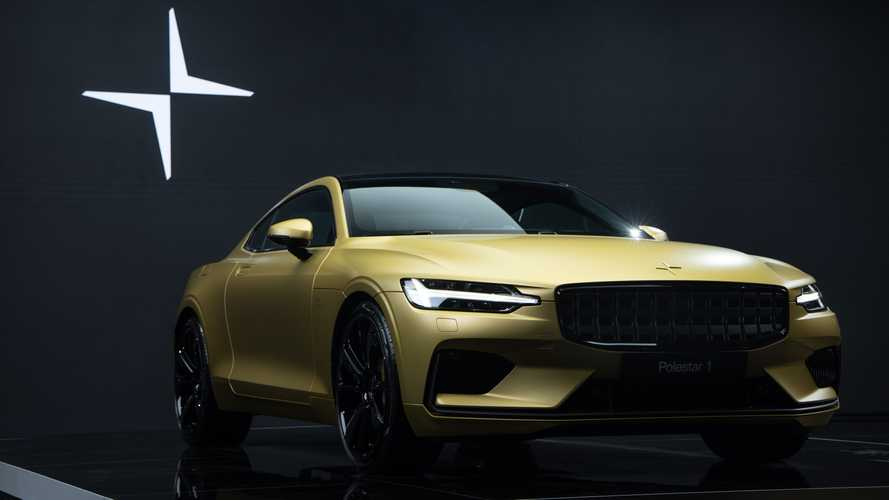 Polestar 1 Special Edition in gold