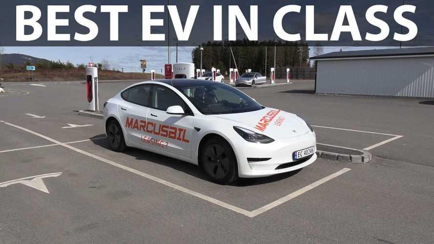 2021 Tesla Model 3 SRP Range Tested By Bjorn Nyland