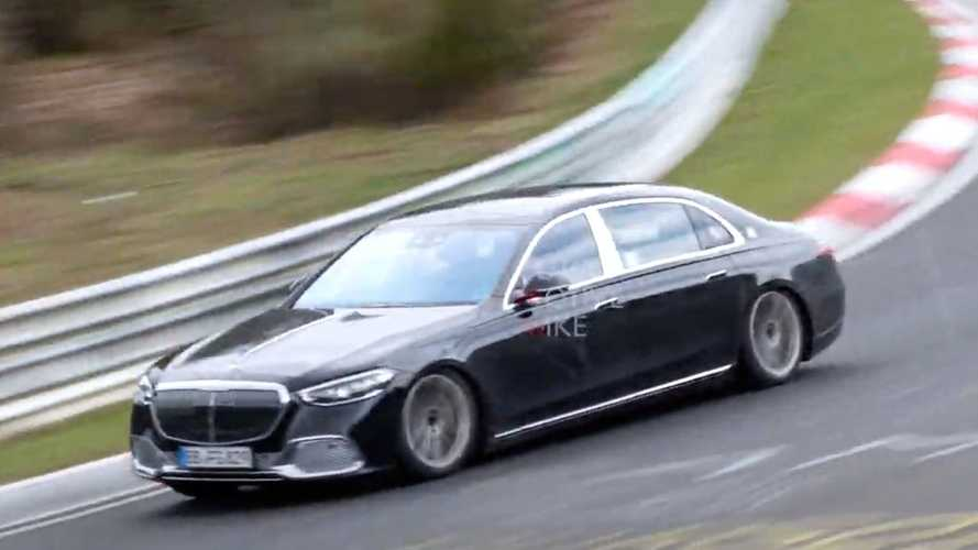 Why Is Mercedes Still Testing The Maybach S-Class At The 'Ring?