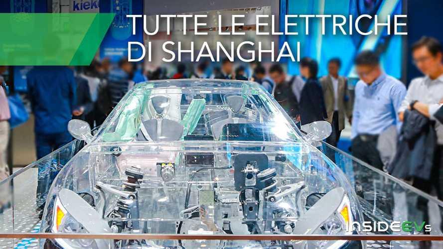 Le 15 auto elettriche più interessanti del Salone di Shanghai