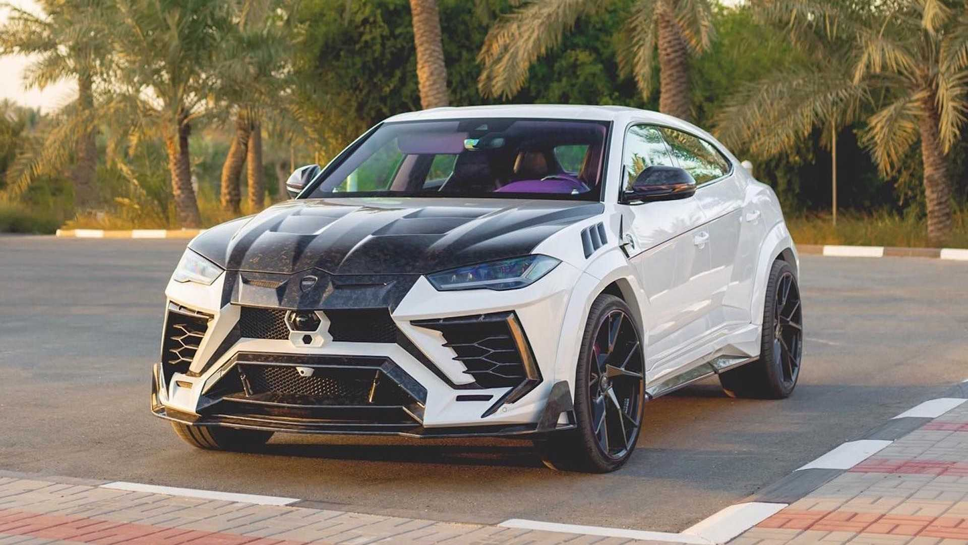 Lamborghini Urus With Purple Interior Is A Mansory Love/Hate Affair